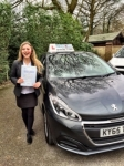 Jenny Evans  passed with Craig Polles Driver Training
