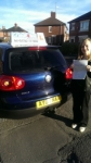 Jessica Bell passed with Craig Polles Driver Training