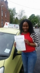 Jody-Anne Chambers passed with Craig Polles Driver Training