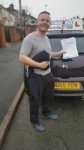 John Westwood passed with Craig Polles Driver Training