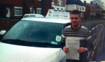 Jordan Pemberton passed with Craig Polles Driver Training