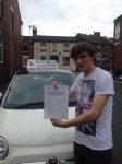 Josh Melon Clarke passed with Craig Polles Driver Training