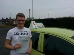 Josh passed with Craig Polles Driver Training
