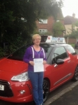 Julie Holloway passed with Craig Polles Driver Training