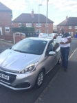 Kamar Peart  passed with Craig Polles Driver Training