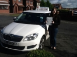 Katie Johnson passed with Craig Polles Driver Training