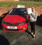 Kellian Cooper passed with Craig Polles Driver Training
