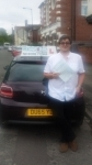 Kerain Boden passed with Craig Polles Driver Training