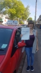 Kerry Spicer passed with Craig Polles Driver Training