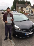 Khalid Jones passed with Craig Polles Driver Training