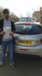 Khateeb Khan passed with Craig Polles Driver Training