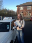 Kirstie Vaughen passed with Craig Polles Driver Training