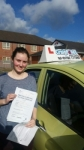 Laura Black passed with Craig Polles Driver Training