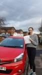Lauren Scott passed with Craig Polles Driver Training