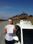 Lauren Whitehouse passed with Craig Polles Driver Training