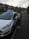 Lavender Bansal passed with Craig Polles Driver Training