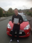 Lewis Parnell passed with Craig Polles Driver Training