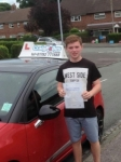 Liam Edwards passed with Craig Polles Driver Training