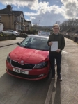 Liam Mountford passed with Craig Polles Driver Training