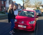 Libby Dean passed with Craig Polles Driver Training