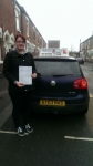 Linda Sprudzane passed with Craig Polles Driver Training