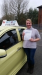 Liz Poole passed with Craig Polles Driver Training