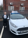 Lucy Bould passed with Craig Polles Driver Training