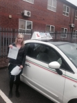 Lucy Stevenson  passed with Craig Polles Driver Training