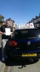 Marc Lyons passed with Craig Polles Driver Training