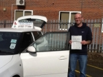 Martin Ellen passed with Craig Polles Driver Training