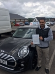 Martin Jose passed with Craig Polles Driver Training