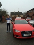Martin Woodward passed with Craig Polles Driver Training