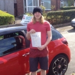 Matt passed with Craig Polles Driver Training
