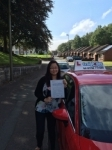 Megg Liew passed with Craig Polles Driver Training
