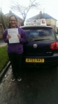 Mehak Yacqub  passed with Craig Polles Driver Training