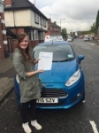 Michaela Tams passed with Craig Polles Driver Training