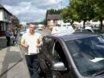 Mike Charters passed with Craig Polles Driver Training