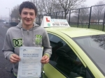 Mike passed with Craig Polles Driver Training