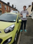 Miles Cleverley passed with Craig Polles Driver Training