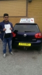 Mohammed Nastaeen Nadeem passed with Craig Polles Driver Training