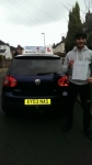 Mohammed Zulkernain Ghalid passed with Craig Polles Driver Training