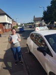Monica Graham passed with Craig Polles Driver Training
