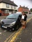 Mrs Summaria Muneer passed with Craig Polles Driver Training