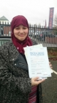 Nada Najmi passed with Craig Polles Driver Training