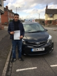 Nahman Ulhauque passed with Craig Polles Driver Training