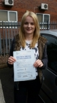 Naomi Ball  passed with Craig Polles Driver Training