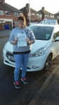 Natalie Davies passed with Craig Polles Driver Training