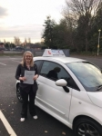 Natasha Tomkinson passed with Craig Polles Driver Training