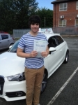 Nathan passed with Craig Polles Driver Training