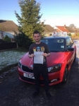 Nic Dracup passed with Craig Polles Driver Training